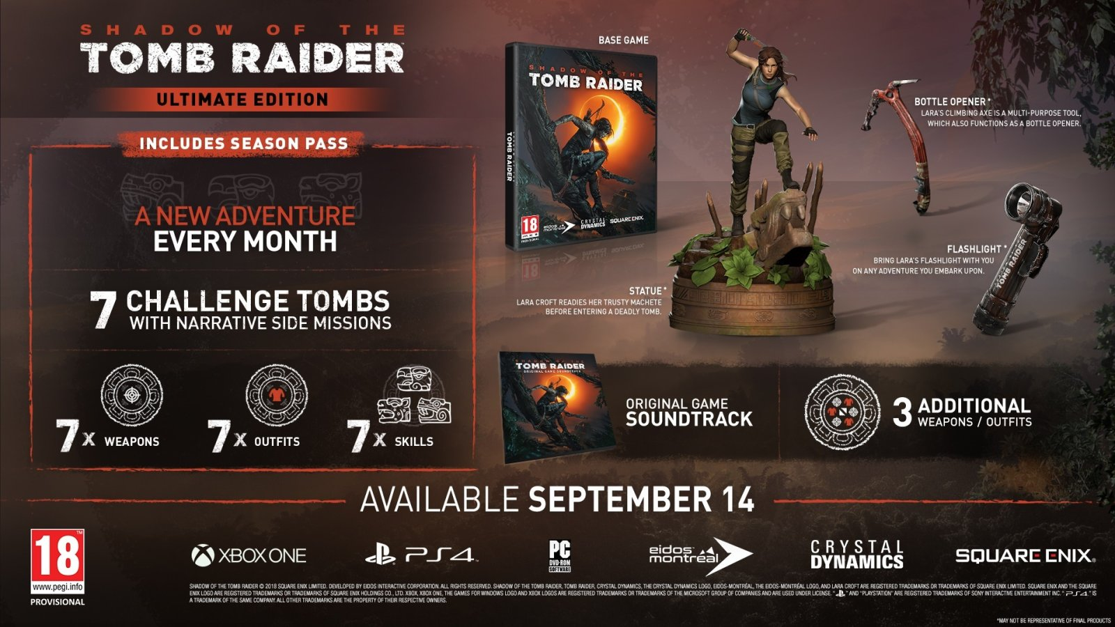 Shadow of The Tomb Raider Ultimate Paket